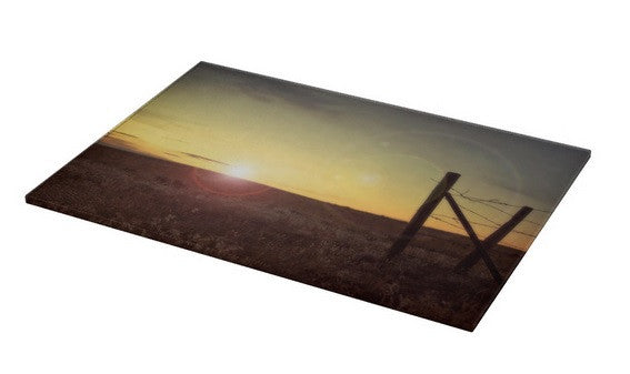 Sunset on the Prairie Cutting Board