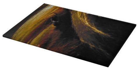 Sunset on the Wild Cutting Board