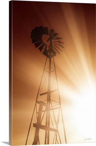 Tommy's Windmill Canvas Print