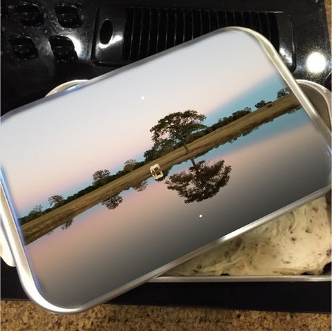 Texas at Dusk Cake Pan with Lid