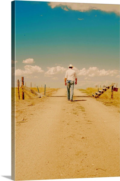 That Dusty Road Canvas Print