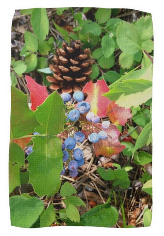 The Colors of Fall Kitchen Towel
