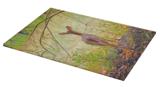The Forest Through the Trees Cutting Board