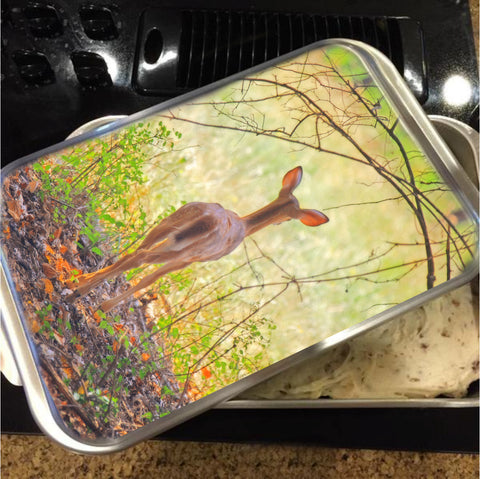 The Forest Through the Trees Cake Pan with Lid