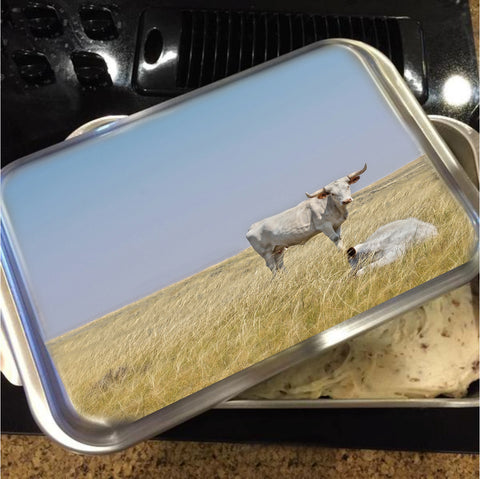 The Greatest Protector Cake Pan with Lid