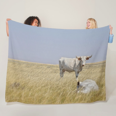 The Greatest Protector Fleece Blanket