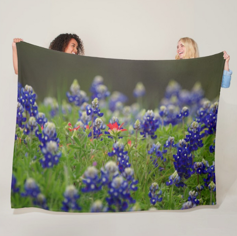 The Lone Star Fleece Blanket