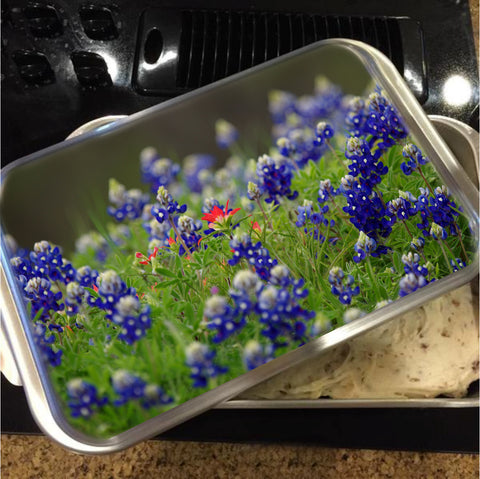 The Lone Star Cake Pan with Lid