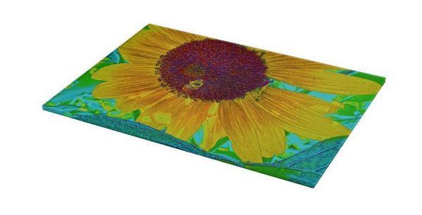 The Sunflower and The Bee Cutting Board