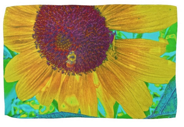 The Sunflower and The Bee Kitchen Towel