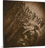 The Tack Room Canvas Print