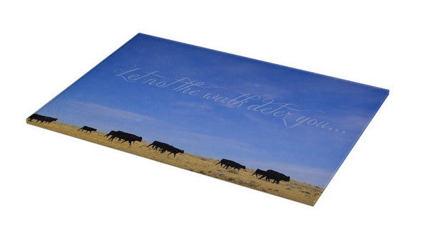 The Walk Inspirational Cutting Board