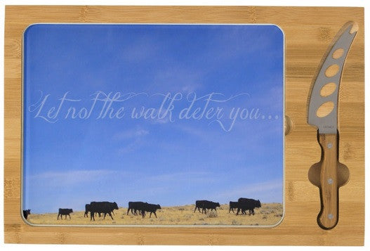 The Walk Inspirational Cheese Board