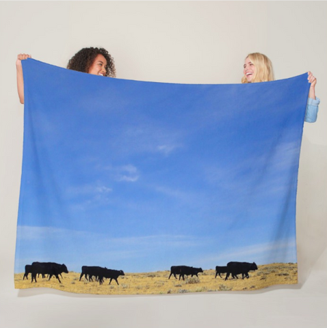 The Walk Fleece Blanket