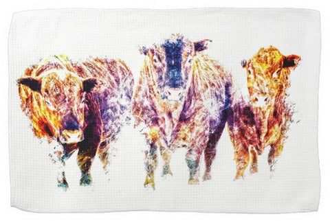 Three Amigos Kitchen Towel