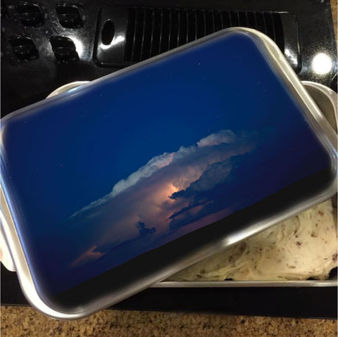 Thunder Boomer Over Wyoming Skies Cake Pan with Lid