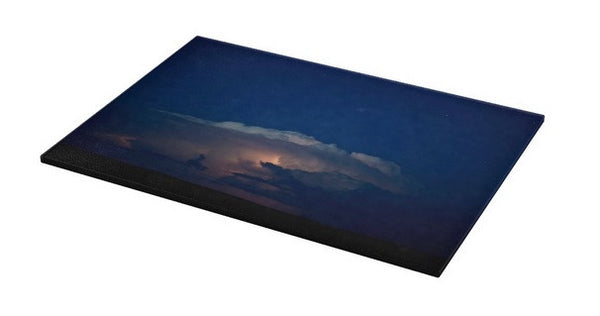 Thunder Boomer Over Wyoming Skies Cutting Board