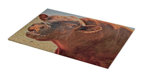 Too Close for Bull Cutting Board