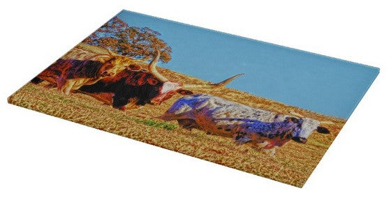Toro Tres Cutting Board