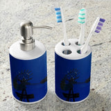 Underwater Windmill Bathroom Set