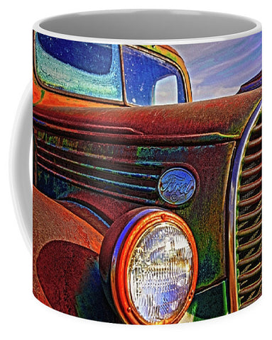 Vintage Rust N Colors Mug