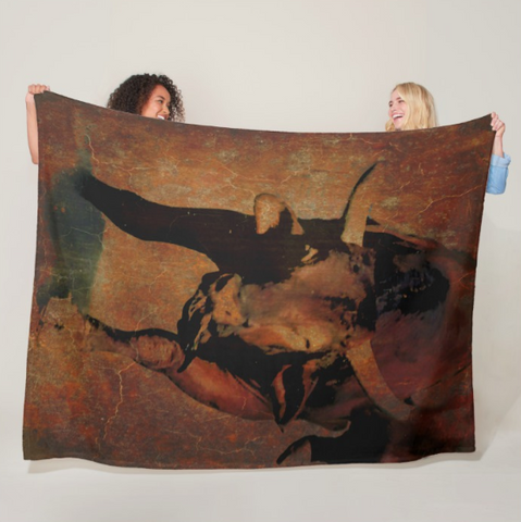 Vintage of a Kind Fleece Blanket