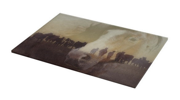 Watch Over the Last Run at Dusk Cutting Board