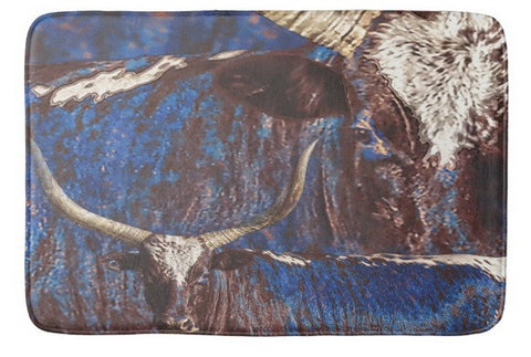 Watusi Blues Bath Mat