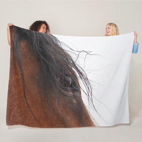 Whip's Eye Fleece Blanket