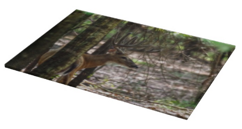 Whitetail Buck Cutting Board