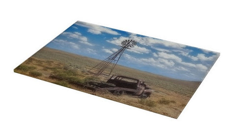 Windmill Over Lenzen Cutting Board