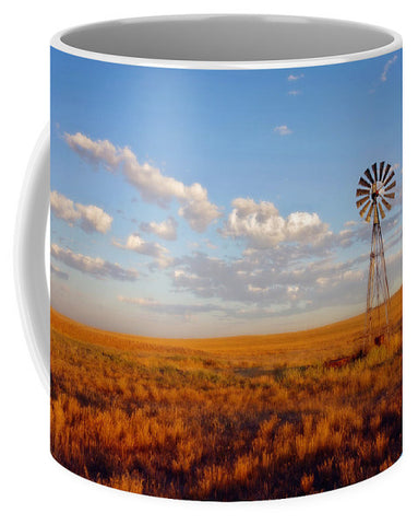 Windmill at Sunset Mug