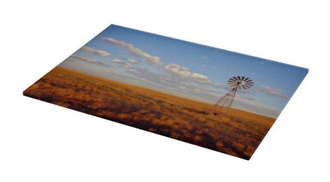 Windmill at Sunset Cutting Board