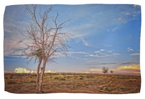Wyoming High Desert Beauty Kitchen Towel