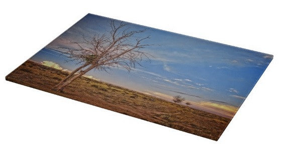 Wyoming High Desert Beauty Cutting Board
