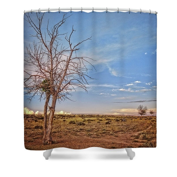 Wyoming High Desert Beauty Shower Curtain