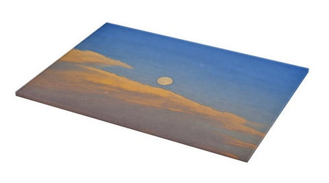 Wyoming Super Moon Cutting Board