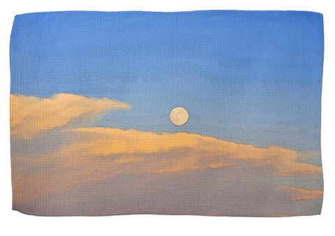 Wyoming Super Moon Kitchen Towel