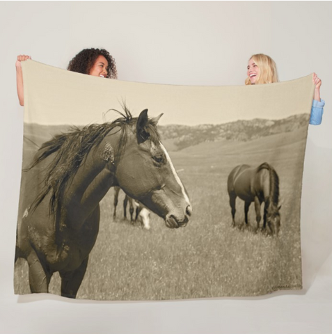 Young Stud Fleece Blanket