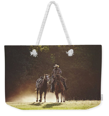 A Dollar In The Dust Weekender Tote Bag