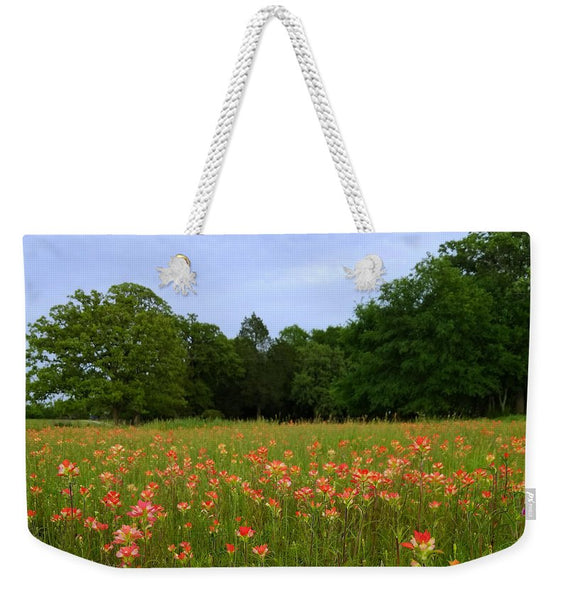 A Pocket Full Of Paintbrush Weekender Tote Bag