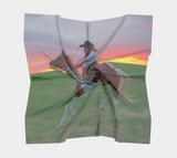 Racing the Sunset Western Scarf