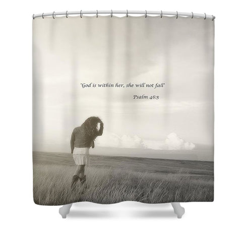 After The Storm Inspirational Shower Curtain