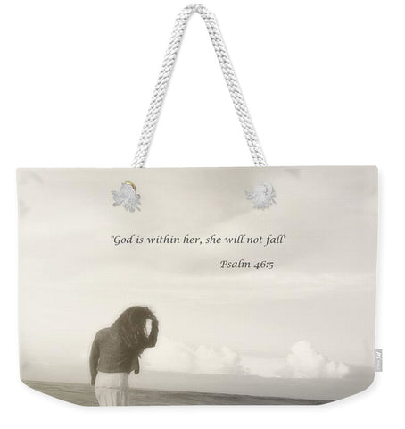 After The Storm Inspirational Weekender Tote bag