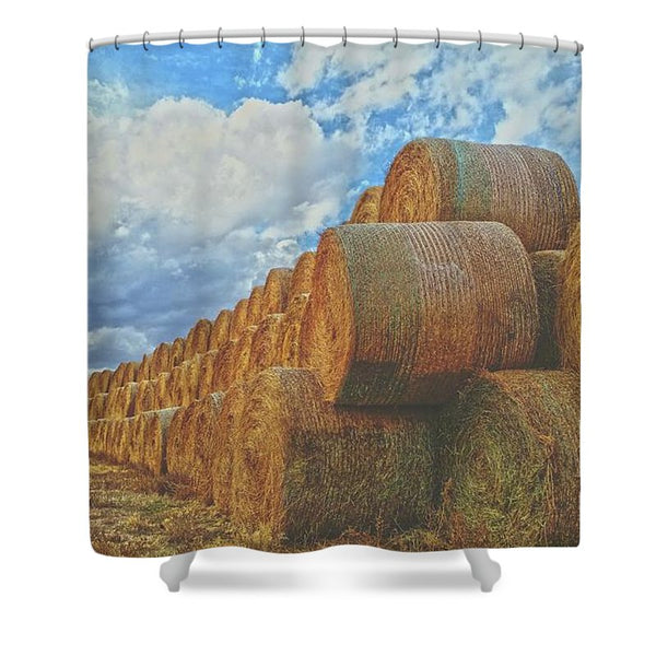 Afternoon Stack Shower Curtain