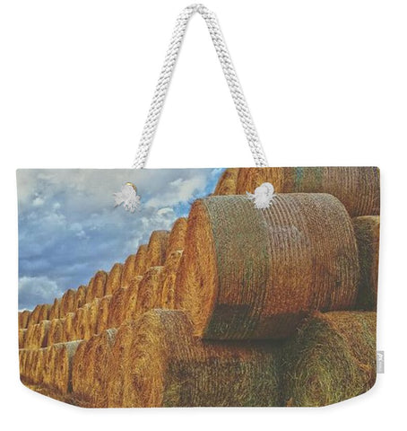 Afternoon Stack Weekender Tote bag