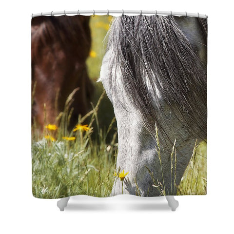 Autumn's Graze Shower Curtain