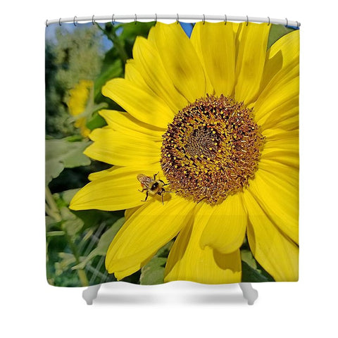 Bee-Dazzled Shower Curtain