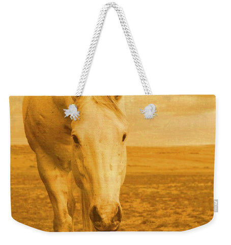 Beggar in Yellow Weekender Tote bag