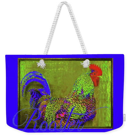 Bert the Rooster Weekender Tote bag